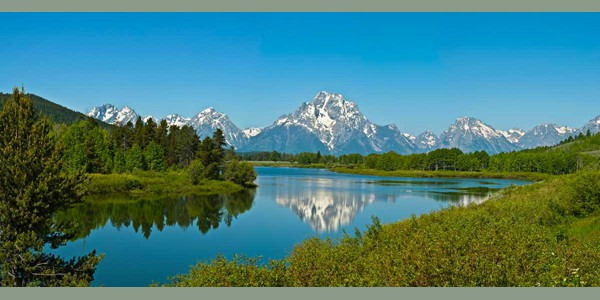 Oxbow Bend In The Spring