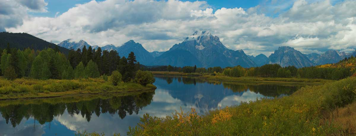 Mount Moran And The Oxbow