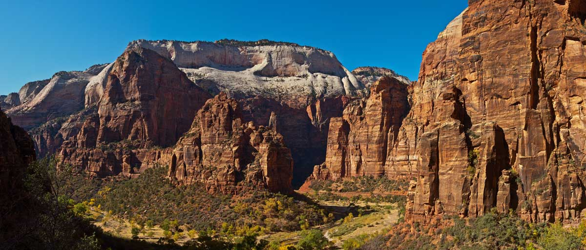 View Of Angels Landing
